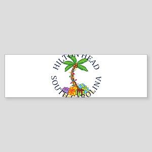 Summer hilton head- south carolina Bumper Sticker