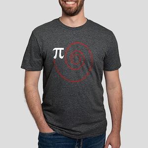 Spiral Pi Science Geek Math Symbol Funny P T-Shirt