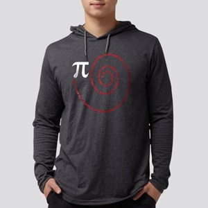 Spiral Pi Science Geek Math Sy Long Sleeve T-Shirt