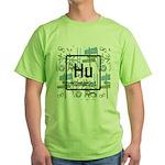 HUMANIST RETRO Green T-Shirt