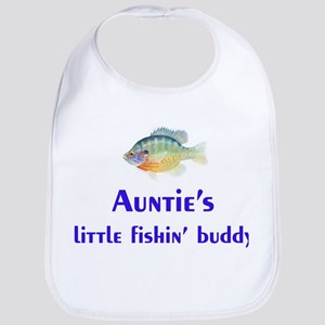 auntie's fishin' buddy Bib