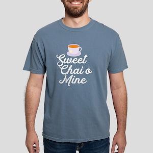 Sweet Chai O Mine Funny Tea Song Pun Music T-Shirt