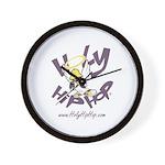 Holy Hip Hop Wall Clock