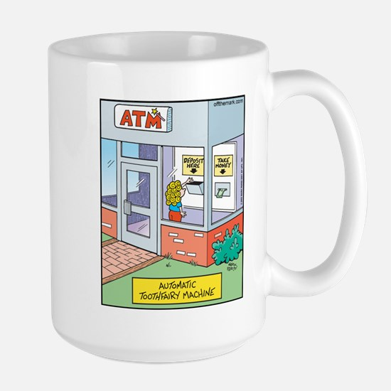 ATM Toothfairy Machine Large Mug