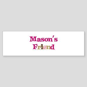 Mason's Friend Bumper Sticker