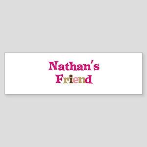 Nathan's Friend Bumper Sticker