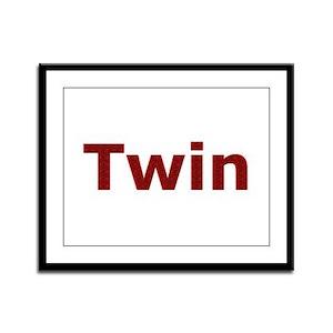 Twin Framed Panel Print