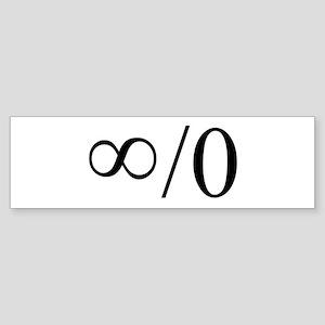 8/0 Bumper Sticker