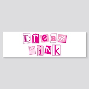 MK Dream Pink Bumper Sticker