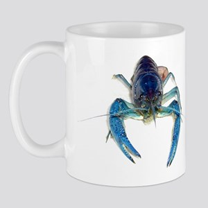 Blue Crayfish Mug