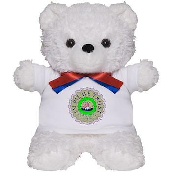 IN PIE WE TRUST Teddy Bear