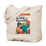 "Tote Bag - ""Love in Greenwich Village"""