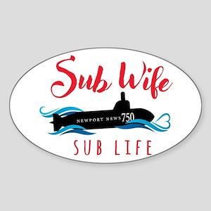 Sub Wife Sub Life Sticker