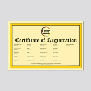 u-fill-out ICA dog registration certificate