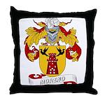 Moreno Family Crest Throw Pillow