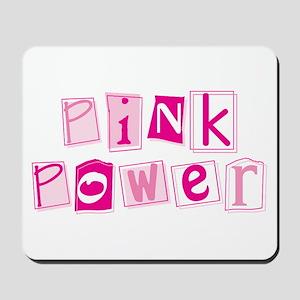 MK Pink Power Mousepad
