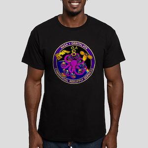 NASA OA-8E Men's Fitted T-Shirt (dark)