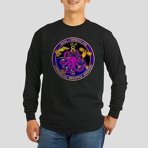 NASA OA-8E Long Sleeve Dark T-Shirt