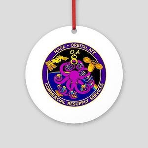 NASA OA-8E Round Ornament