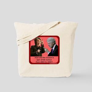 """$109 Million?"" Tote Bag"