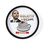 Obama 'Mulatte Liberal' Wall Clock