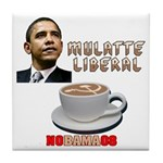 Obama 'Mulatte Liberal' Tile Coaster