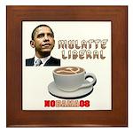Obama 'Mulatte Liberal' Framed Tile