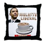 Obama 'Mulatte Liberal' Throw Pillow