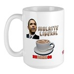 Obama 'Mulatte Liberal' Large Mug