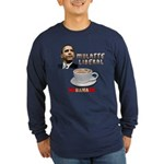 Obama 'Mulatte Liberal' Long Sleeve Dark T-Shirt
