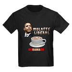 Obama 'Mulatte Liberal' Kids Dark T-Shirt