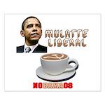 Obama 'Mulatte Liberal' Small Poster