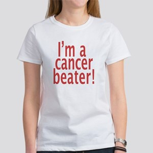 Women's Cancer Beater Cotton T-Shirt