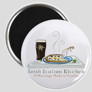Irish Italian Kitchen Magnet