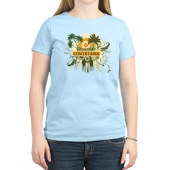Palm Tree Louisiana Women's Light T-Shirt