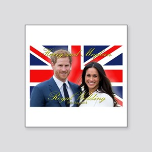 HRH Prince Harry and Meghan Markle Sticker