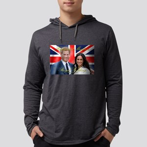 HRH Prince Harry and Meghan Ma Long Sleeve T-Shirt