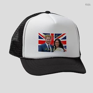 HRH Prince Harry and Meghan Markl Kids Trucker hat