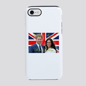 HRH Prince Harry and Meghan iPhone 8/7 Tough Case