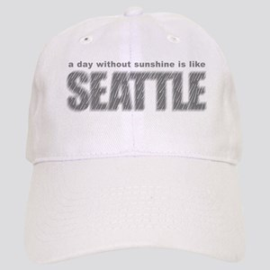 funny Rainy Seattle Weather Cap
