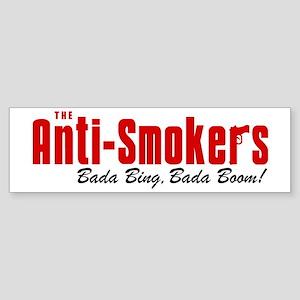 The Anti-Smokers Bada Bing Bumper Sticker