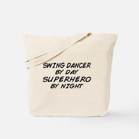 Swing Dancer Superhero by Night Tote Bag