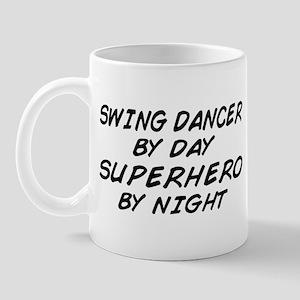 Swing Dancer Superhero by Night Mug