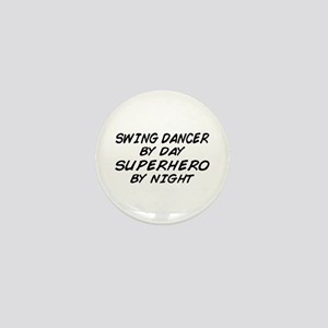Swing Dancer Superhero by Night Mini Button