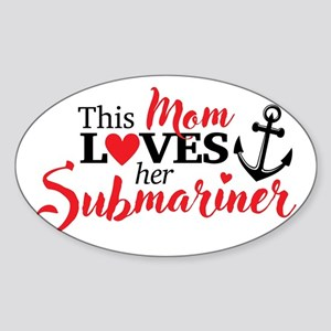 Mom Loves her Submariner Sticker