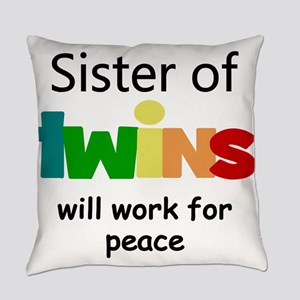 Twins sister Everyday Pillow