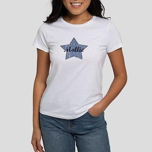 Mollie (blue star) Women's T-Shirt