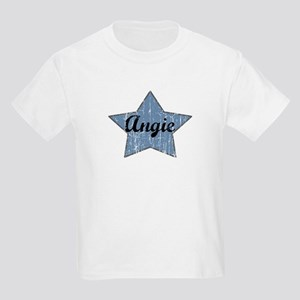 Angie (blue star) Kids Light T-Shirt