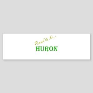 Huron Bumper Sticker (10 pk)