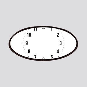 Custom Unique One-of-a-kind Wall Clock Numbe Patch